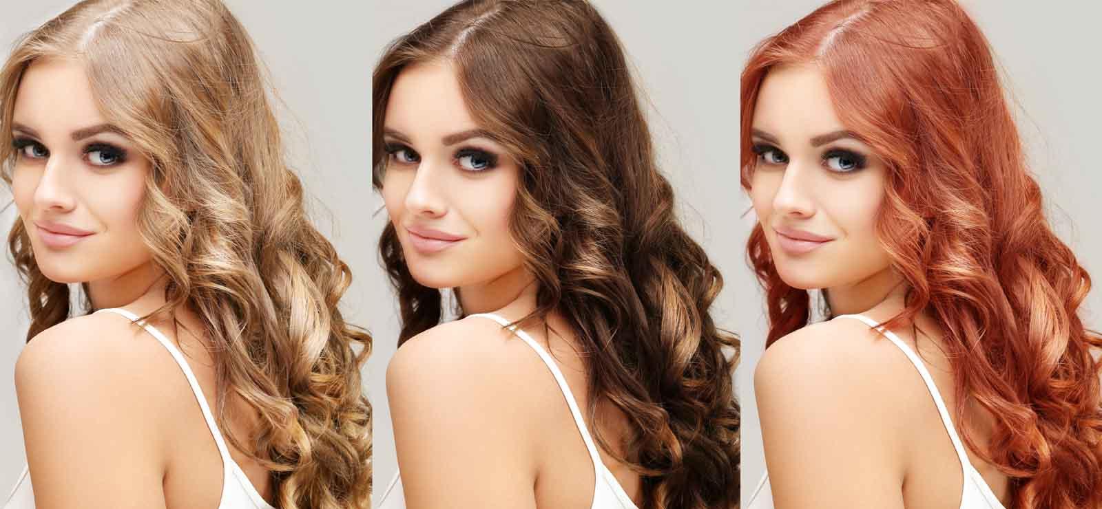 Aplicación cambiar color de pelo